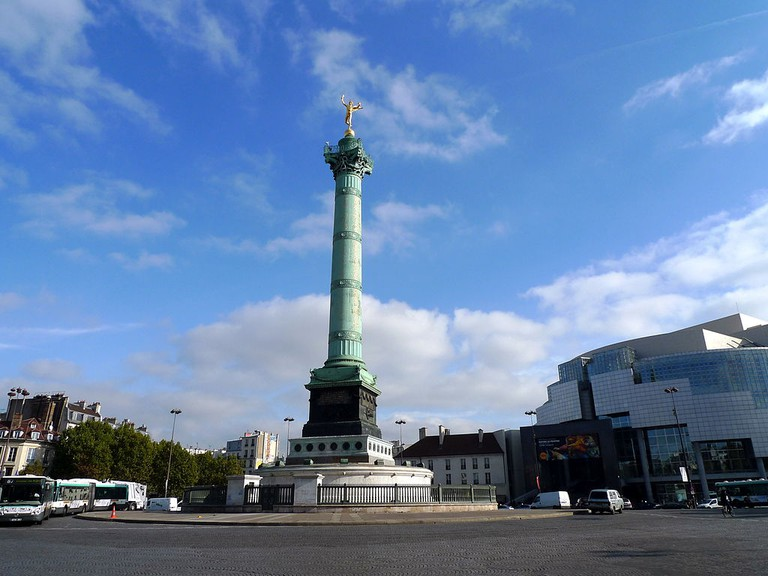 Place de la Bastille │© jean-louis Zimmermann / Wikimedia Commons