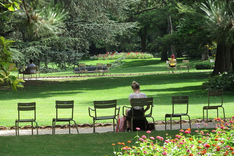 Quiet spot in the Jardin du Luxembourg │© aconcagua / Wikimedia Commons