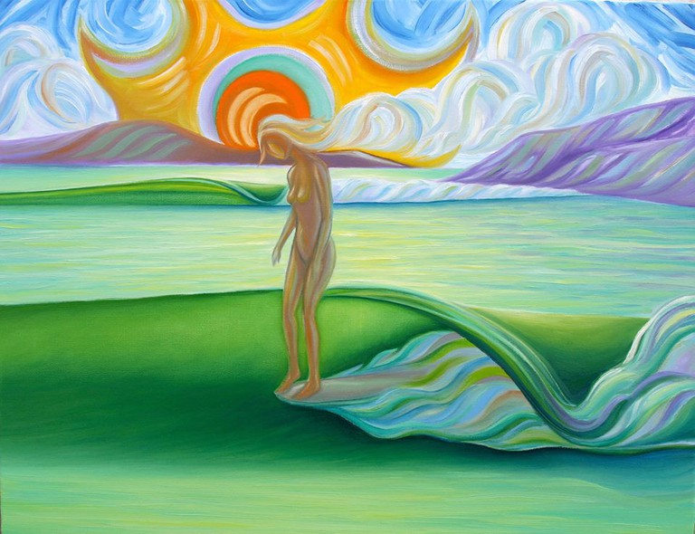 The feminine sea