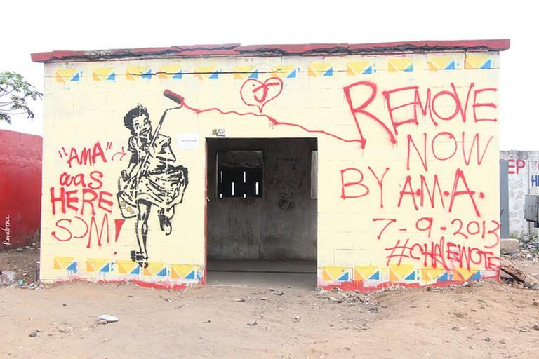 AMA Was Here Sɔm, (c) Kwabena Akuamoah-Boateng / Flickr