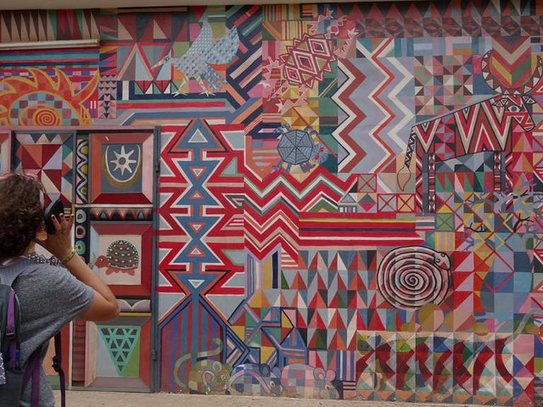 Nubuke's Wall (c) Hanna Stubblefield-Tave / Flickr