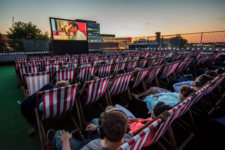 Rooftop East in Stratford | © Rooftop Film Club
