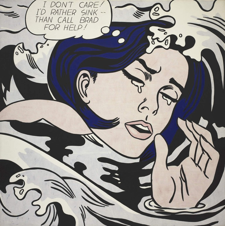 Drowning Girl | Courtesy of Museum of Modern Art