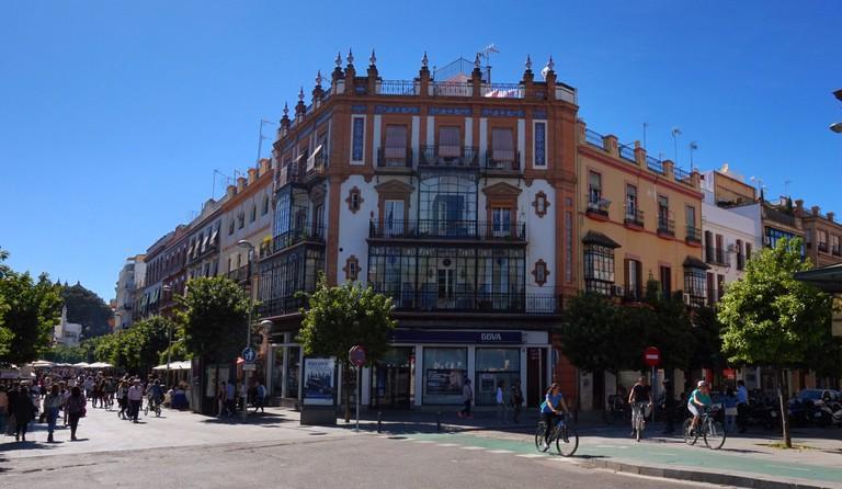 Triana was formerly the gypsy quarter of Seville; Encarni Novillo