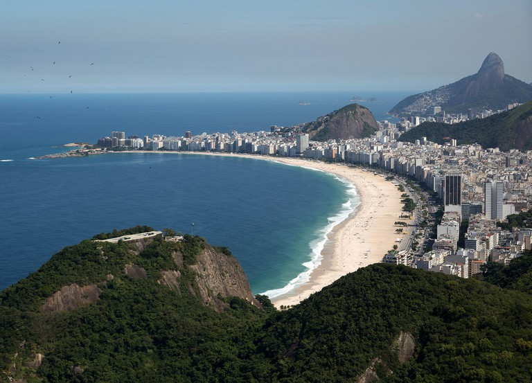 Copacabana beach |© Fernando Maia|Riotur/Flickr