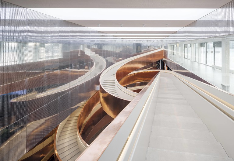 The Helix stairs | © Adam Mørk / Courtesy of Experimentarium