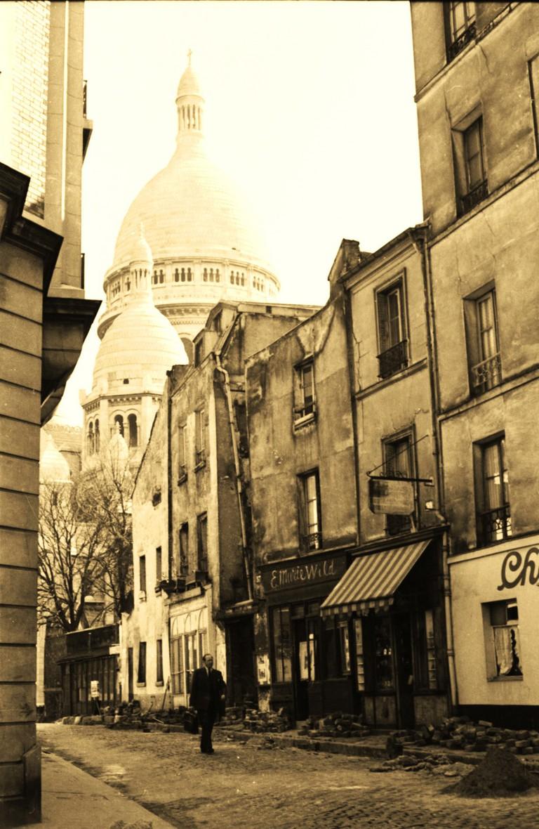 Sacré Coeur, Paris (1956) │© Maurice Sapiro