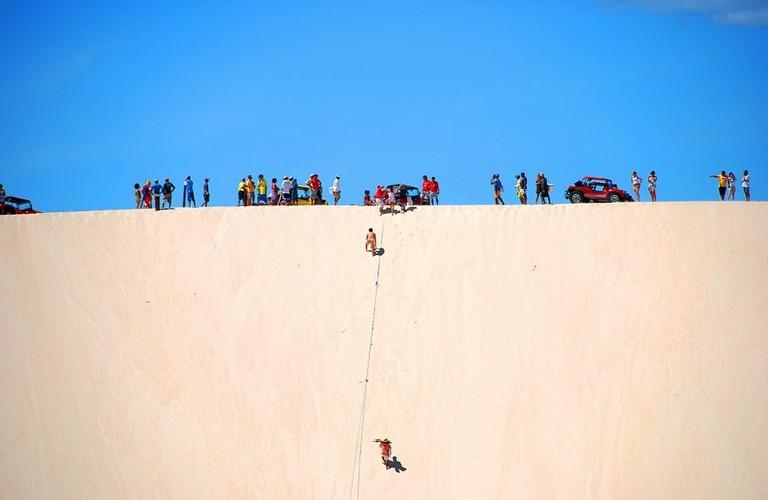 Take a trek through the dunes