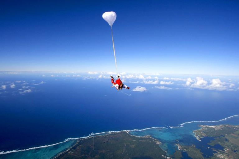 Skydive in Mauritius|© Courtesy of Skydive Mauritius