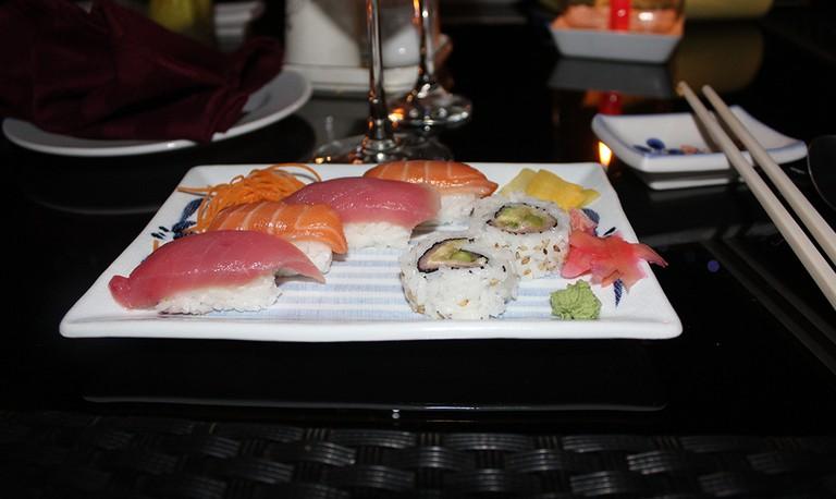 Sushi & Champagne Pairing dinner