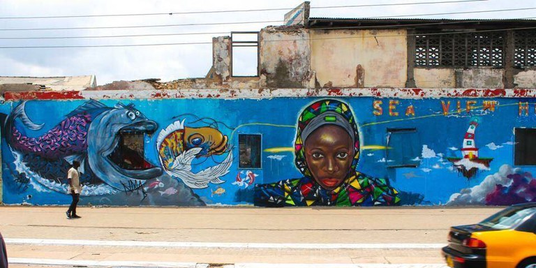 Accra Street Graffiti