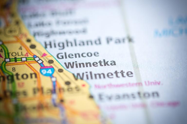 Winnetka, Illinois | © sevenMaps7 / Shutterstock