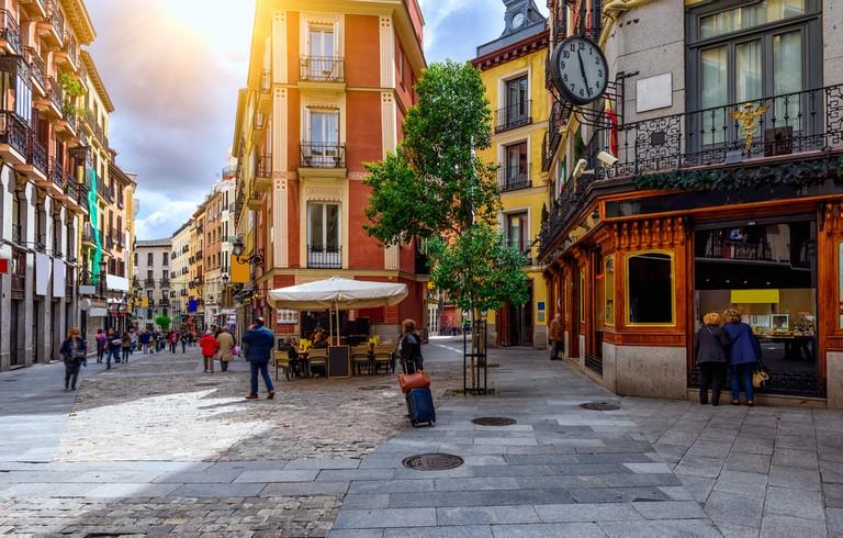Charming Madrid streets│© Catarina Belova/Shutterstock