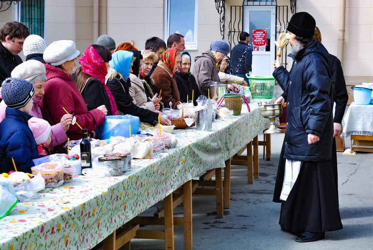 10 things you should know about celebrating easter in russia easter celebrations underway olga vasilyevashutterstock m4hsunfo