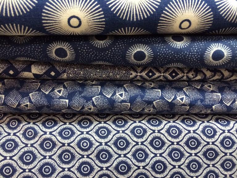 Blue Shweshwe fabric