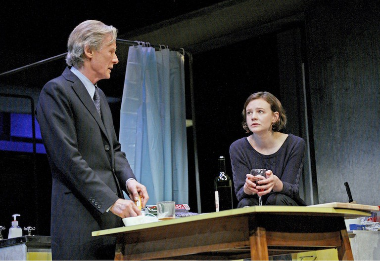 Bill Nighy and Carey Mulligan in David Hare's 'Skylight' | © John Haynes