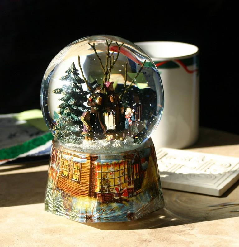 A Christmas version of the Austrian invention | © CherylStj / Pixabay