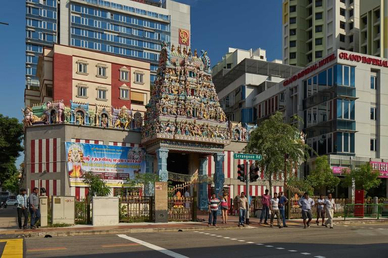 Sri Veeramakaliamman Temple, 2016 | Courtesy of National Heritage Board