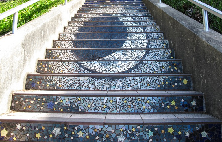 16th Avenue Tiled Stair Project