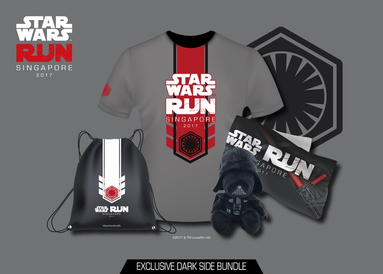 STAR WARS RUN - Dark side entitlements | Courtesy of Asia PR Werkz and Esprimo
