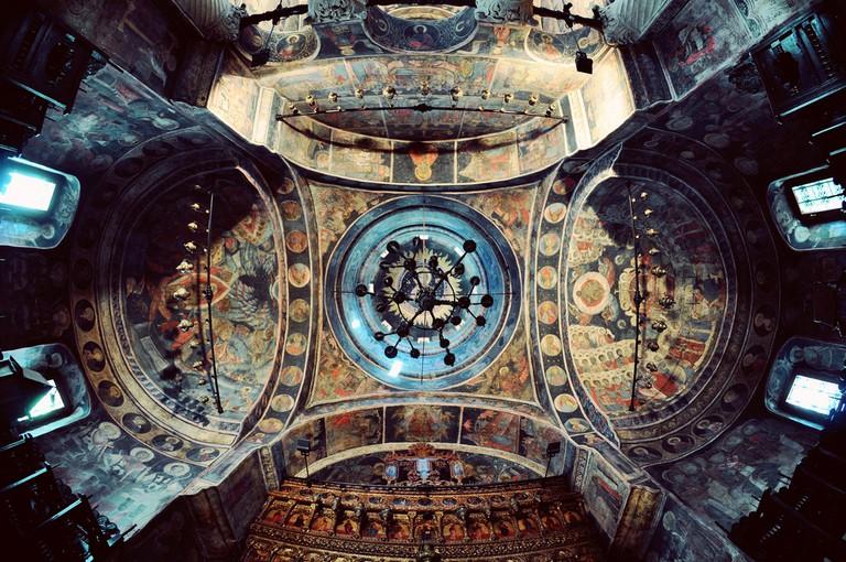 Stavropoleos Church frescoes | © fusion-of-horisons/Flickr