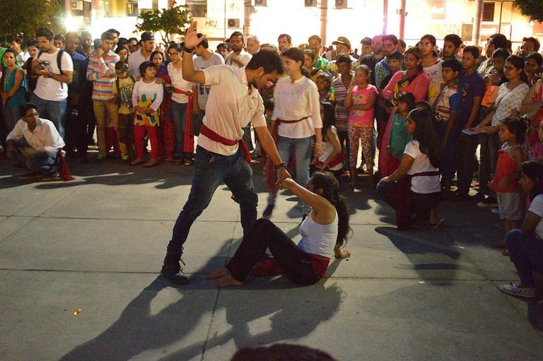 © Street theatre performance | Biswarup Ganguly/Wikimedia