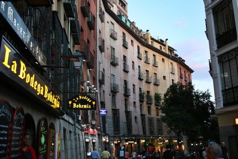 Walking around Madrid is cheap and fun