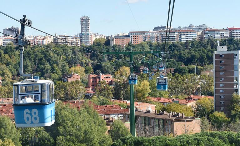 Madrid's cable car | © Tim Adams/Flickr