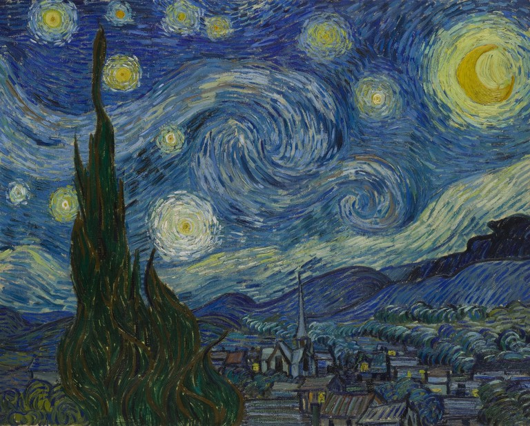 The Starry Night | Courtesy of Museum of Modern Art