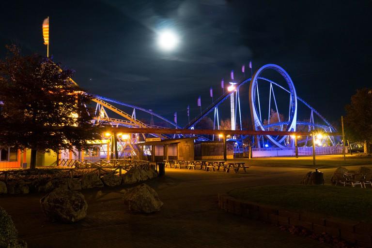 Slagharen at night