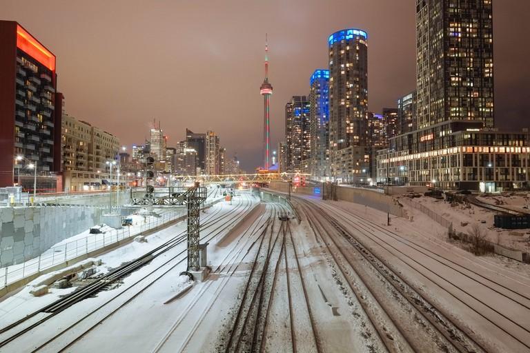 Toronto in the winter |© Nick Harris/Flickr