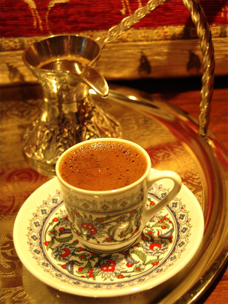 Traditional Turkish coffee set © Nick Willsher
