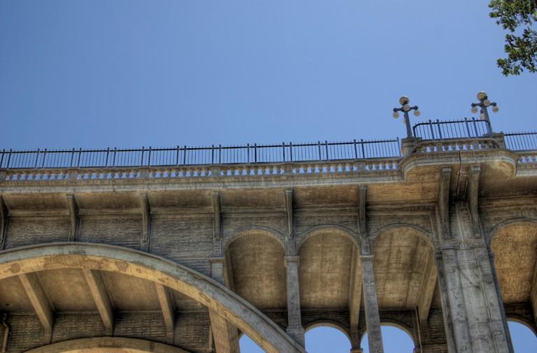 Colorado Street Bridge|©Cody/Flickr