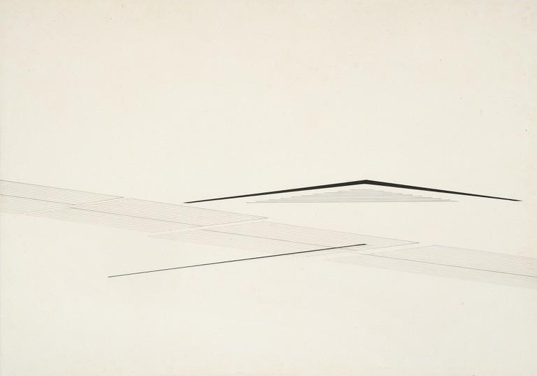 Nasreen Mohamedia, Untitled, ca. 1980. © Nasreen Mohamedi.