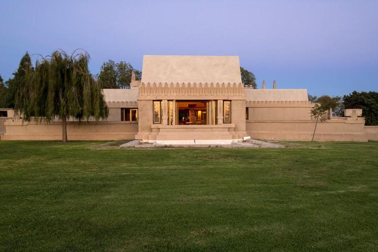 Frank Lloyd Wright's Hollyhock