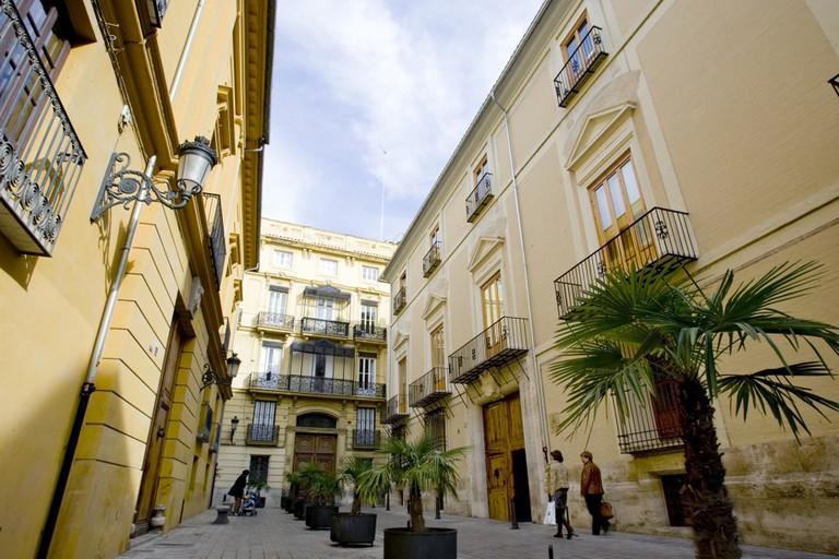 Valencia's Old Town. Photo courtesy of Valencia Tourism