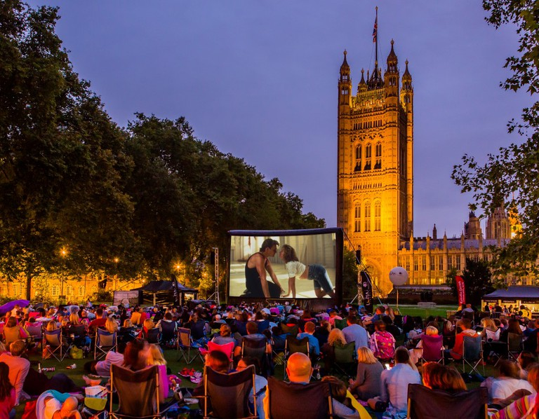 Victoria Tower Gardens | © Riot Communications/Luna Cinema
