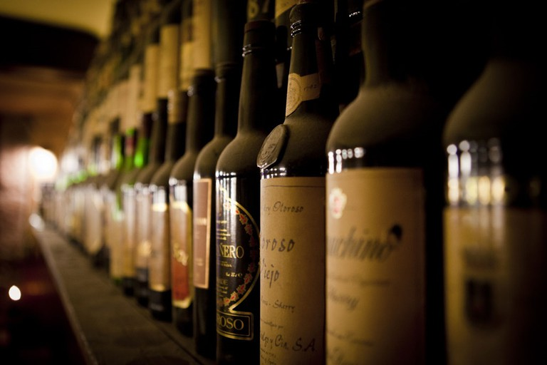Wine galore | © La Vinícola Metridiana