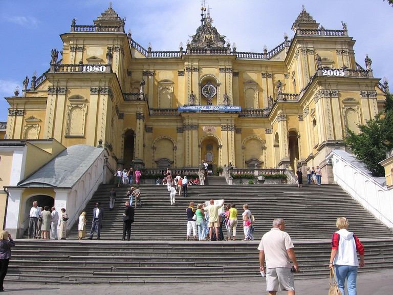 Wambierzyce, a large basilica and pilgrimage destination | © Marcin Chady/Flickr