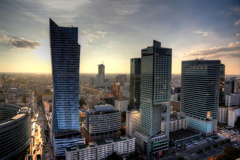 Warsaw aerial view | © Enrico Strocchi/Flickr