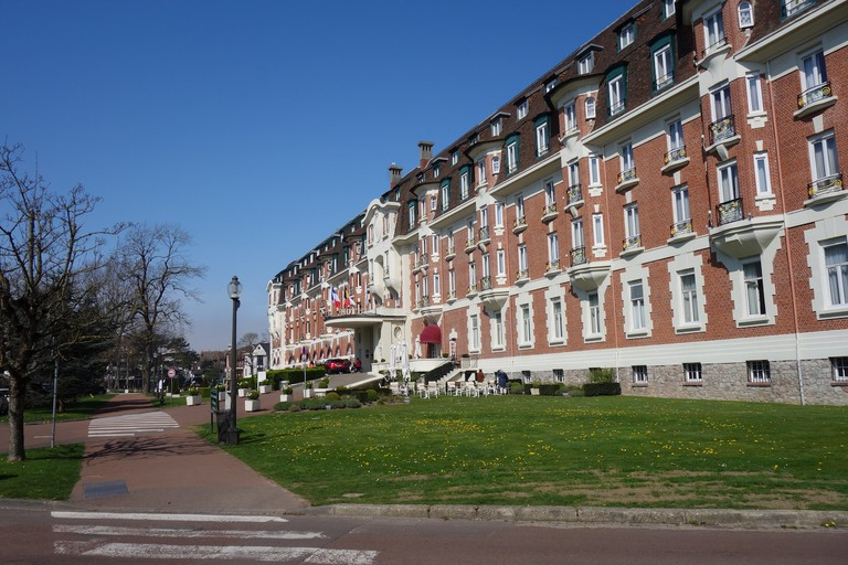 Westminster Hotel in Le Touquet ©Sylvia Edwards Davis
