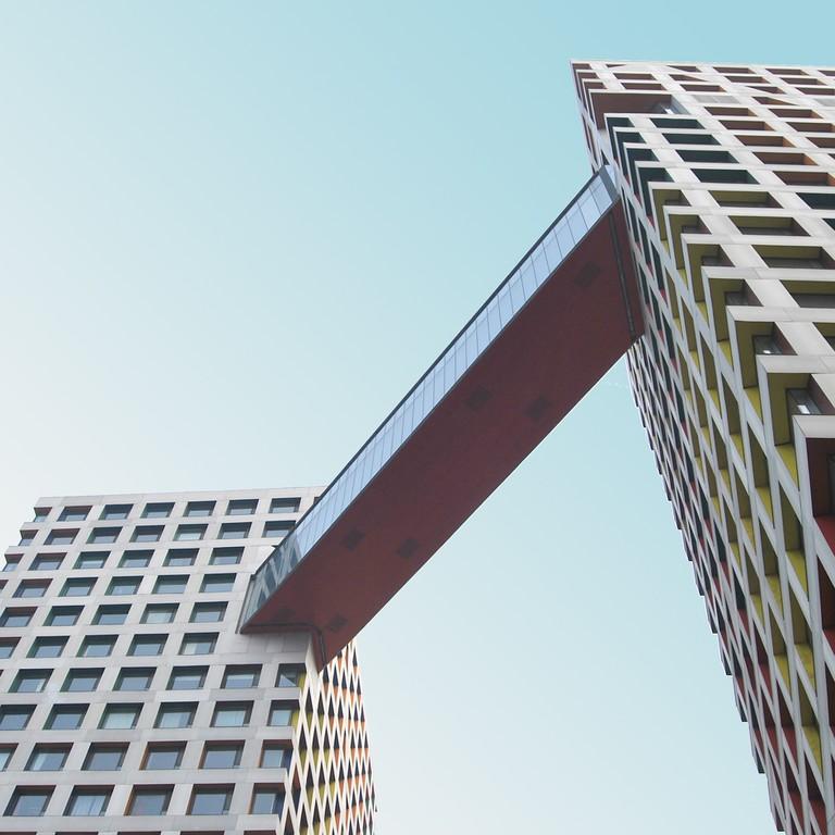 Moma/Linked Hybrid, Steven Holl Architects
