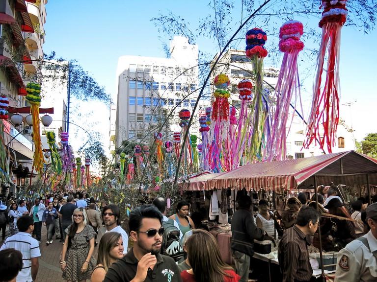 Star Festival in Liberdade