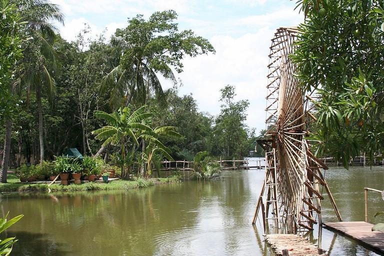 Bamboo Waterwheel