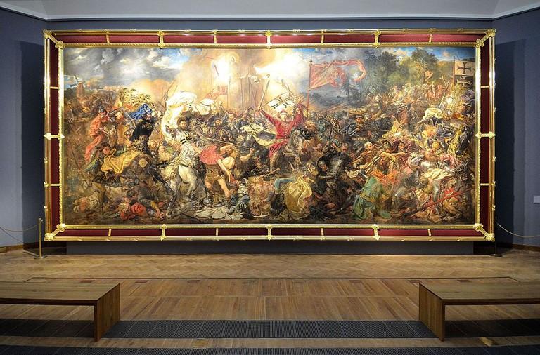 Bitwa pod Grunwaldem in National Museum in Warsaw