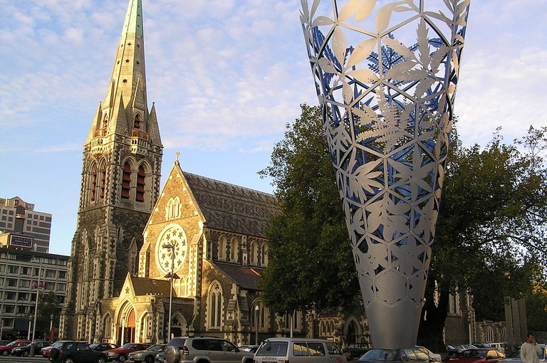 Christchurch Square Before the Earthquakes