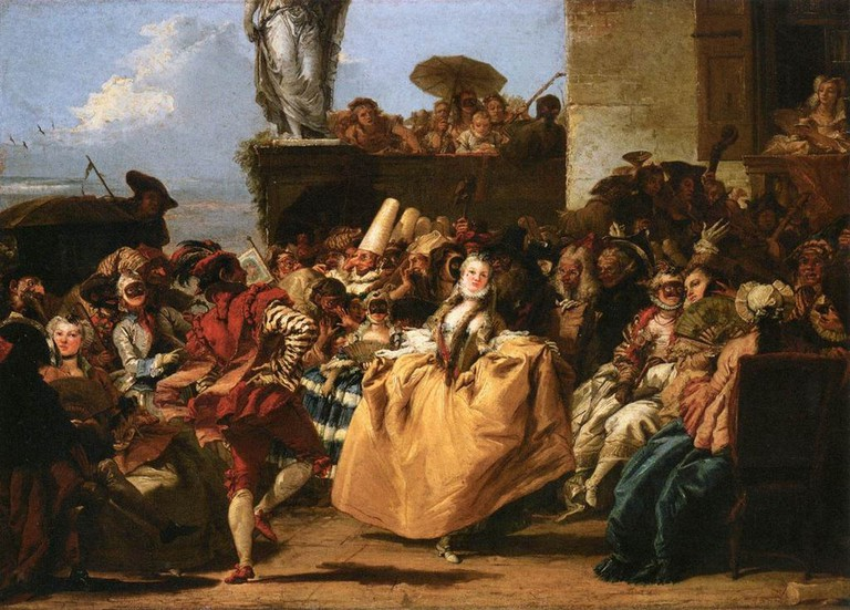 The Minuet by Giovanni Tiepolo