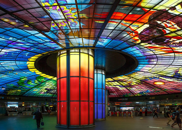 The Dome of Light at Formosa Boulevard Station