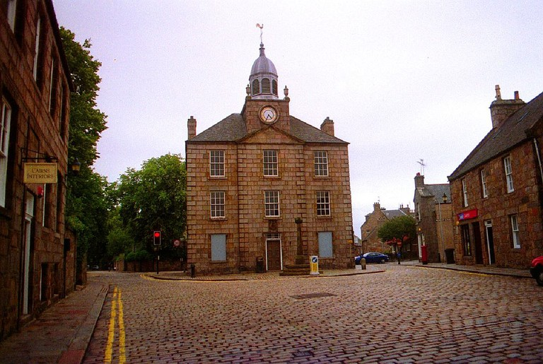 Old Aberdeen Town House and Mercat Cross