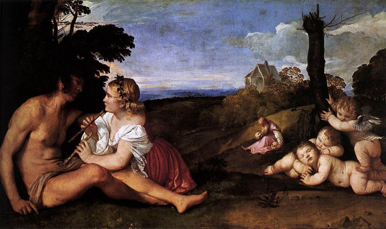 The Three Ages Of Man by Titian (Tiziano Vecellio) | © WikiCommons